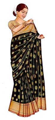 How to wear an Indian Saree