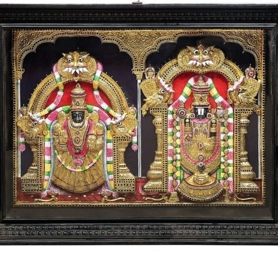 Tanjore Painting: Art of the Gods