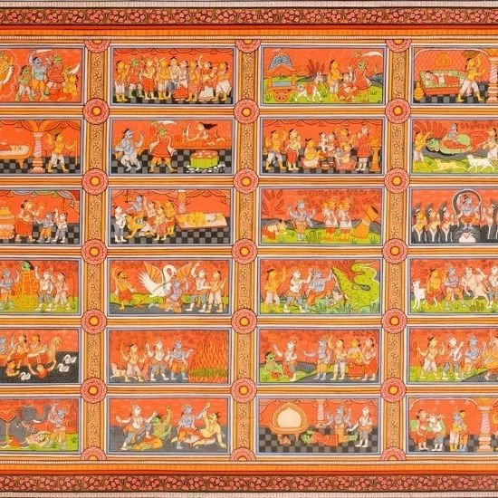 The Heritage and Evolution of Pattachitra Paintings