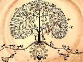 Warli Art – The Indigenous Tribal Artform that expresses Life through Geometry