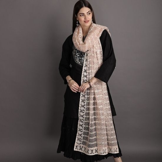 How To Style A Dupatta Scarf In The Modern Age