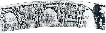 Worship of Stupa: Sanchi, 2nd - 1st century B.C.