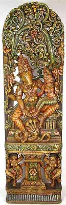 A Tender Display of Affection (Varaha with Bhudevi)