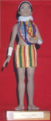 Bondo Tribal Doll