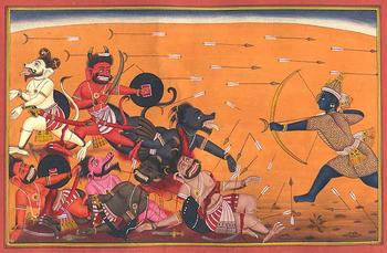 Rama in Battle