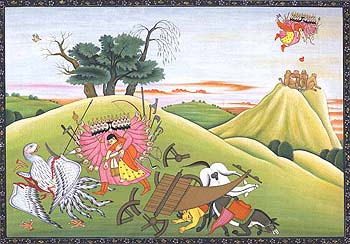 Abduction of Sita by Ravana