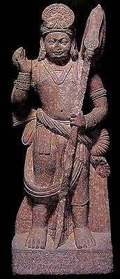 Male Figure with Elaborate Waistband