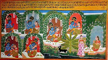 A Frame by Frame Narration of the Gita Govinda