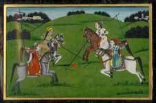 Indian Miniature Painting in Jangal Color