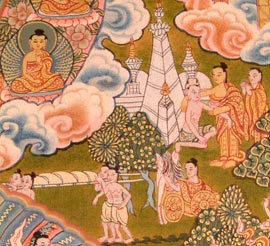 Buddha's Encounter with Death