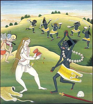 The Dance of Shiva and Kali