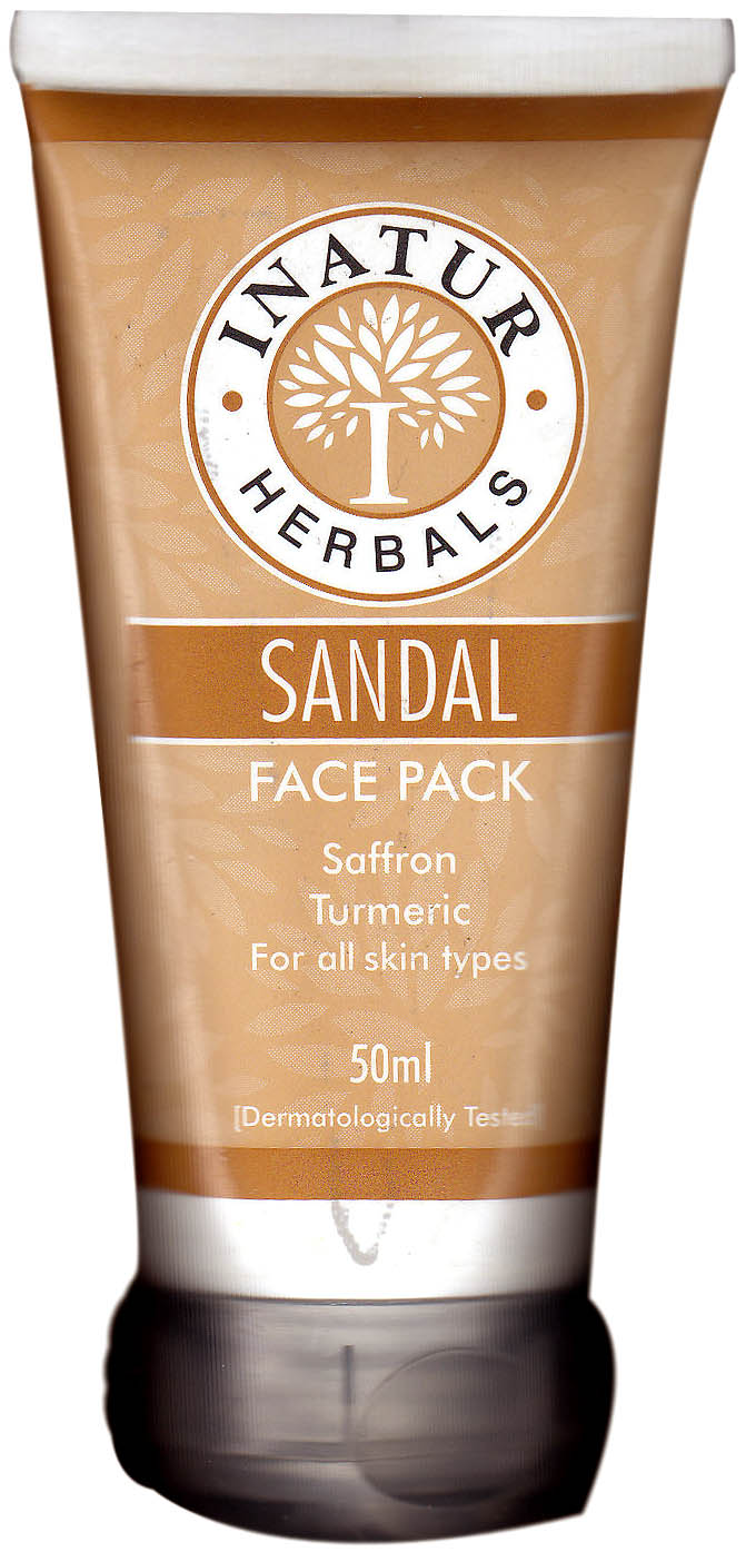 sandal face pack how to use