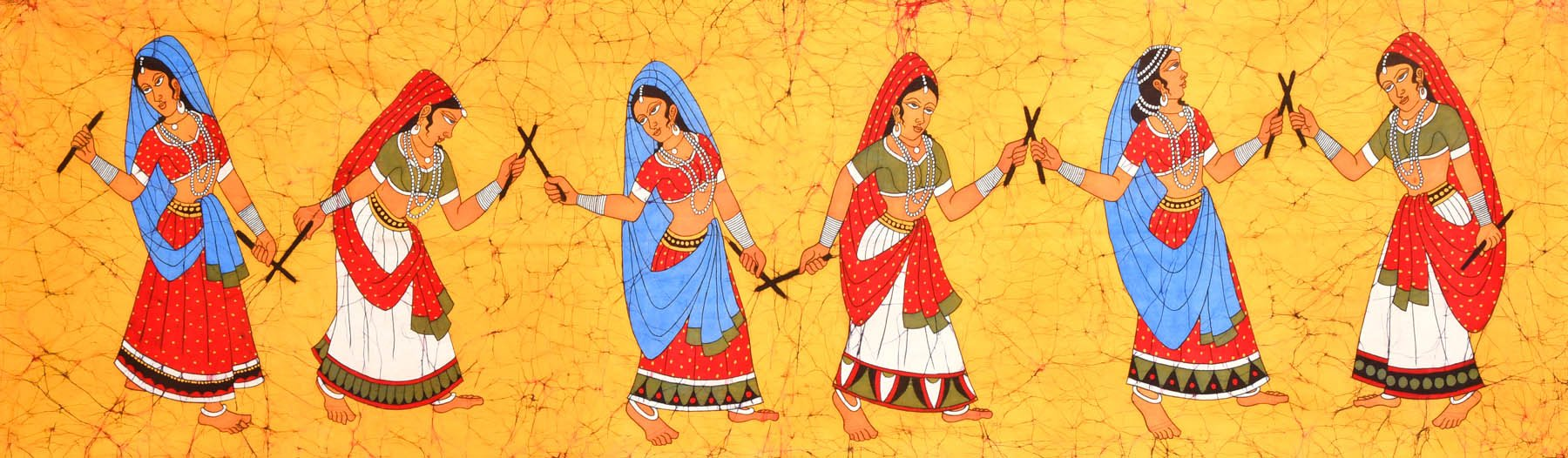 Dandia Raas Folk Dance