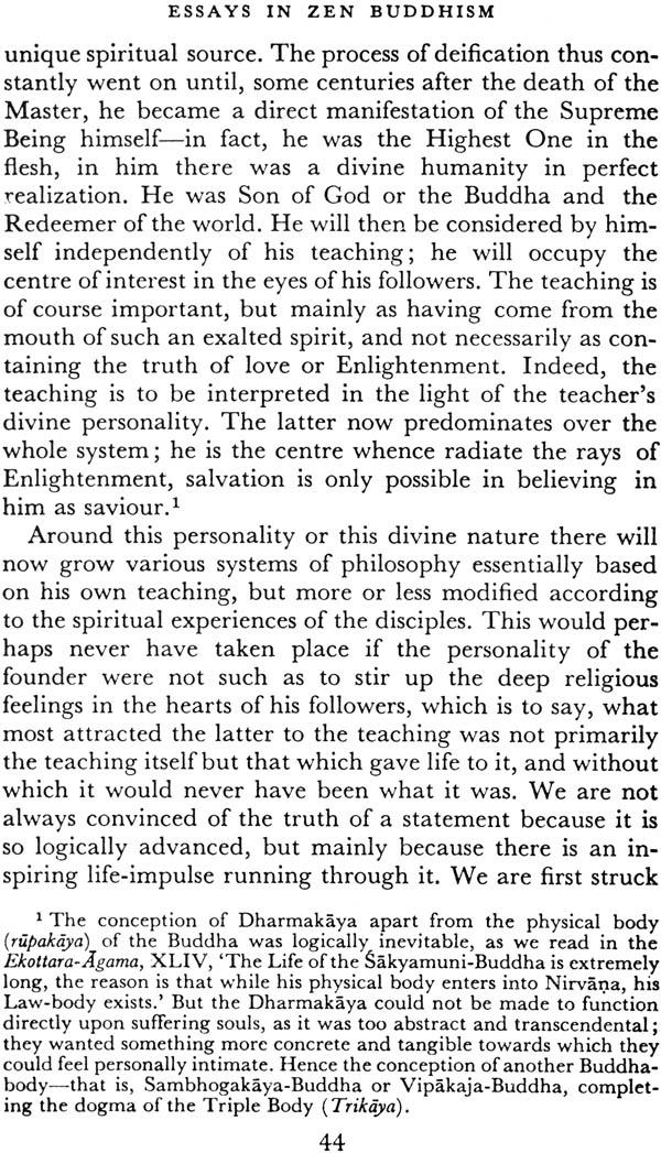 "suzuki essays in zen buddhism first series As one perceptive reviewer of suzuki's 1956 zen buddhism ""the sense of zen"" in essays in zen buddhism, first series los angeles review of books."