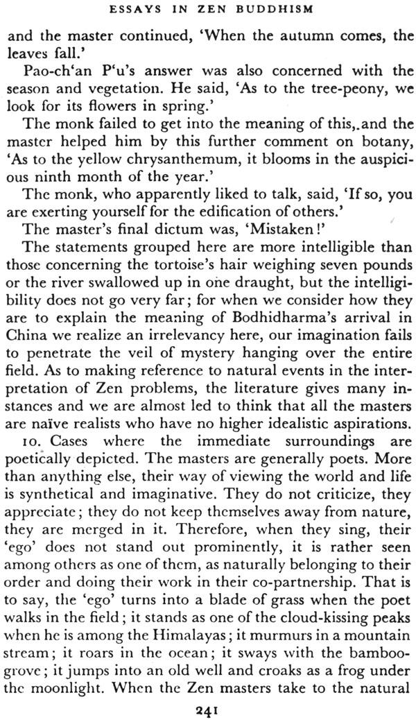 essays in zen buddhism third series This is the third volume in university of in this meditative essay, suzuki elucidates four aesthetic one of these is essays in zen buddhism (first series).