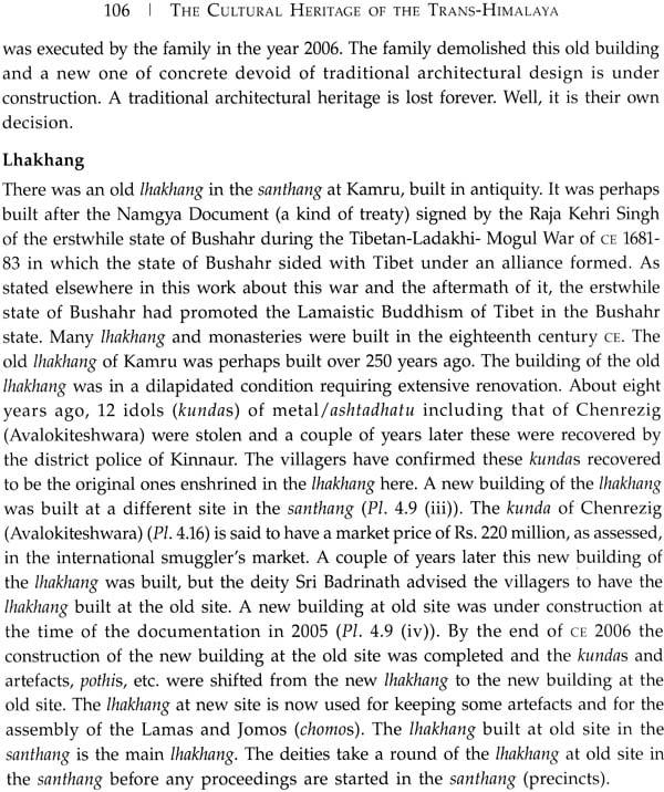 The Cultural Heritage Of The Trans Himalaya Kinnaur
