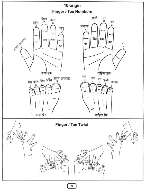 Ayurvedic Acupressure Treatment Hand Book (Set of 3 Volumes)