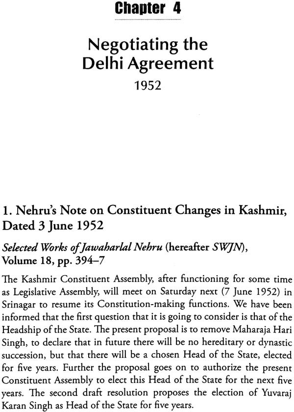 A Constitutional History Of Jammu And Kashmir