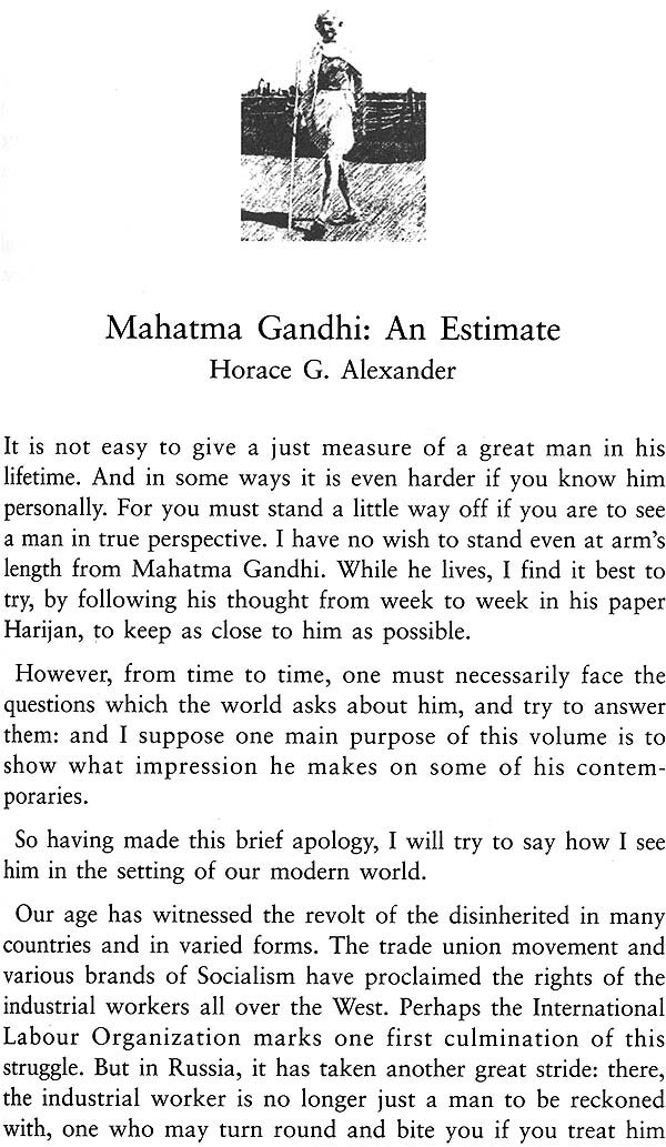 A essay on mahatma gandhi
