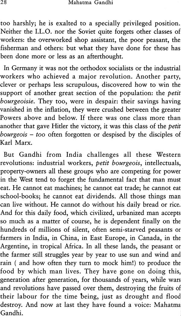 Mahatma Gandhi Essays And Reflections Mahatma Gandhi Essays And Reflections By Sarvepalli Radhakrishnan Look  Inside The Book
