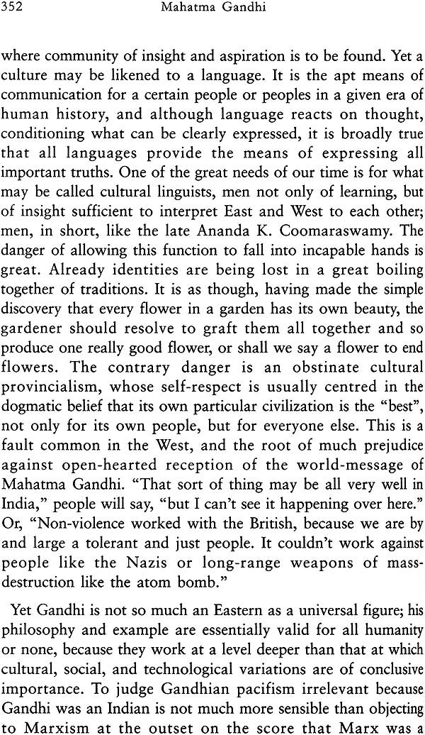 Essay on gandhi