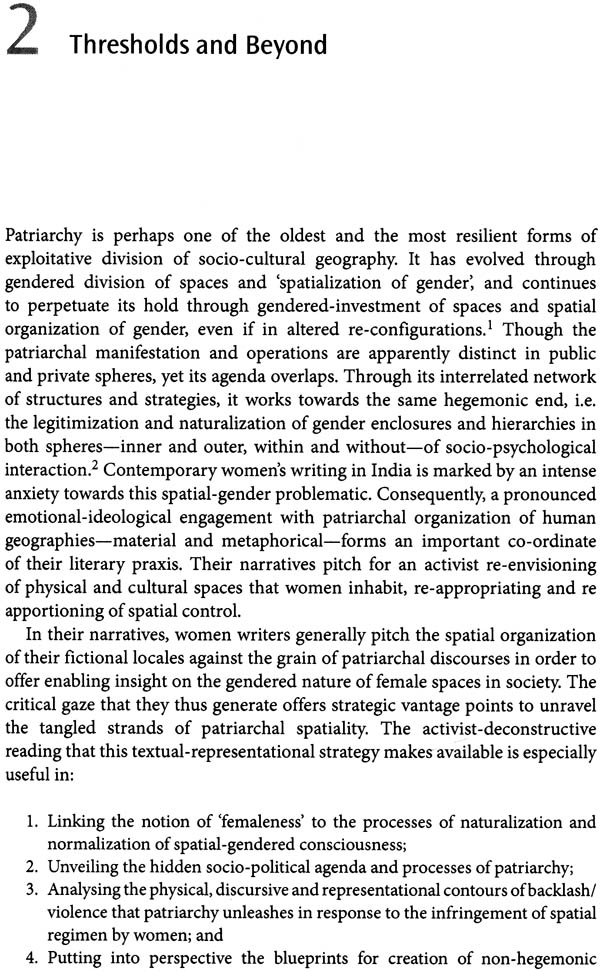 Gender Space And Creative Imagination The Poetics And Politics Of