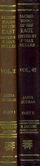Jaina Sutras (Set of Two Volumes)