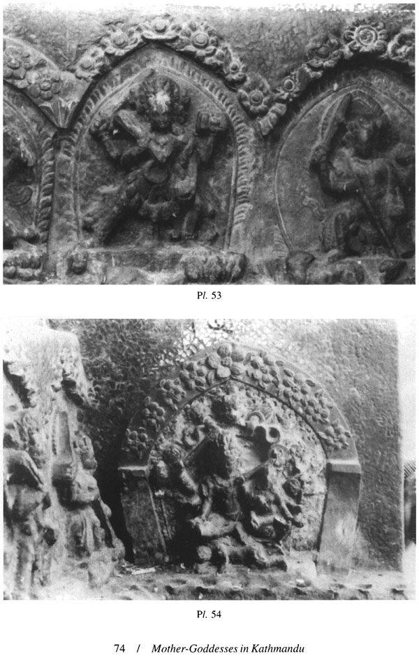 Mother-Goddesses In Kathmandu