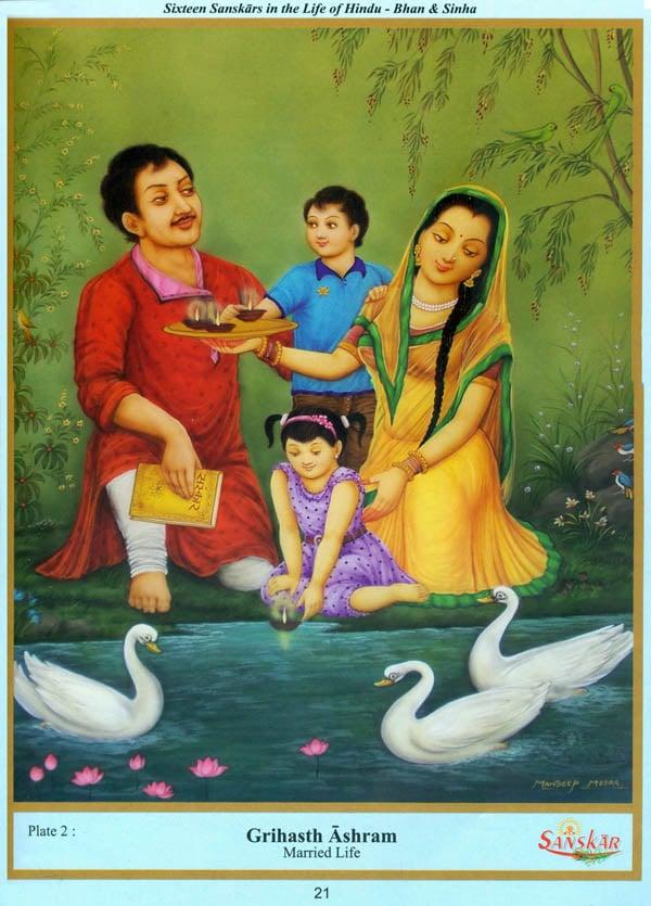 Sixteen sanskars samskaras in the life of hindu look inside the book fandeluxe Images