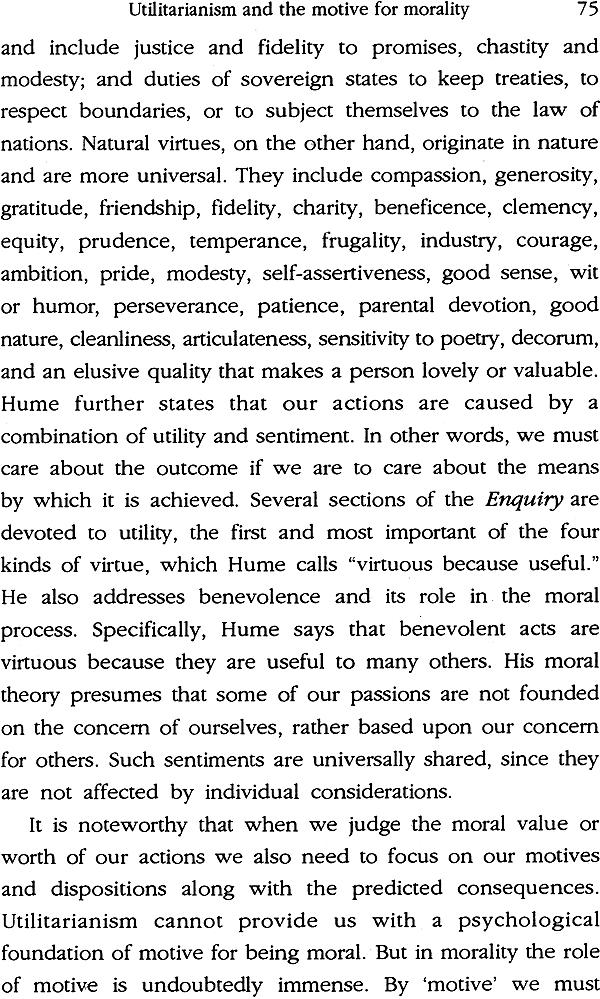on utilitarianism essays on utilitarianism
