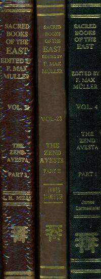 The Zend- Avesta  (Set of 3 Volumes)