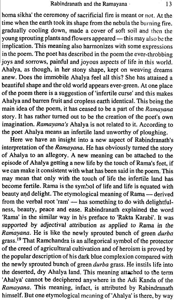 rabindranath tagore on the ra ana and the mahabharata look inside the book
