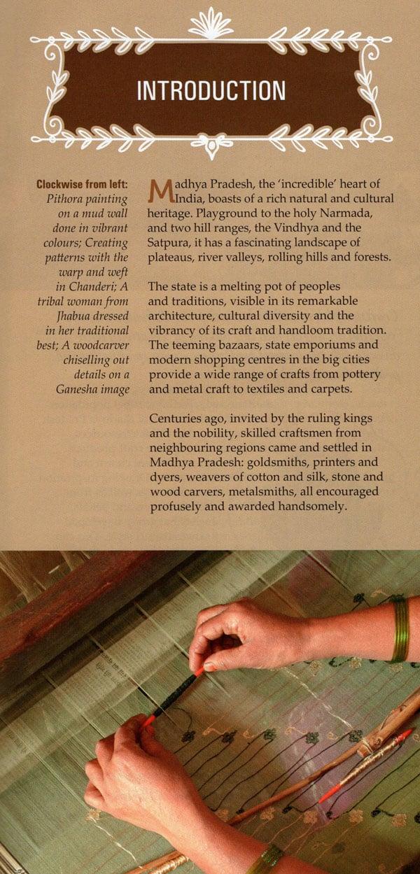 Handlooms And Handicrafts Of Madhya Pradesh