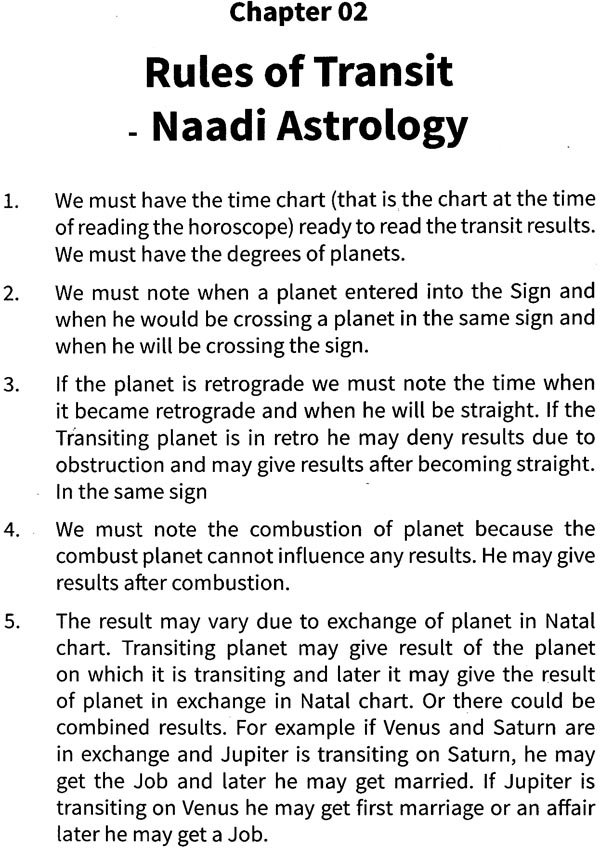 Naadi Astrology: Transit Secrets (Rao's System of Naadi Astrology-Transits  Results Expanded)