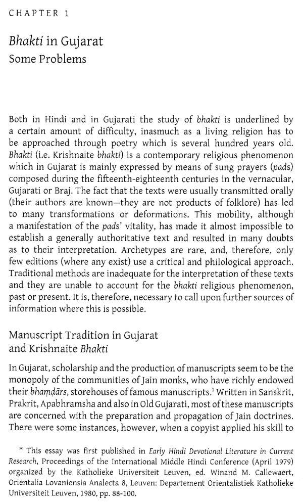 Religious Culture Of Gujarat Twelfth To Twentieth Century