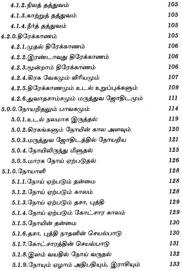 Madison : Tamil jothidam book