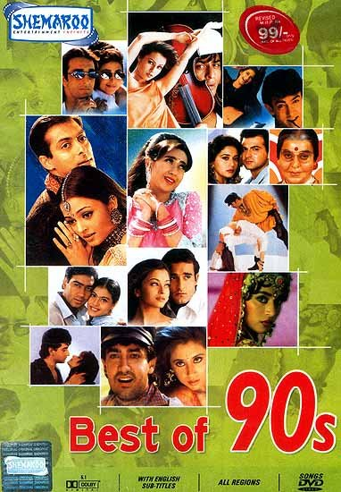 Best Of 90s Famous Hindi Film Songs From The 1990s
