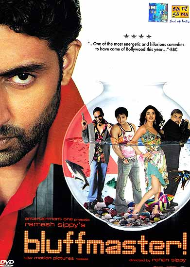 Translations Into Italian: Bluffmaster (Hindi Film DVD With Optional Subtitles In