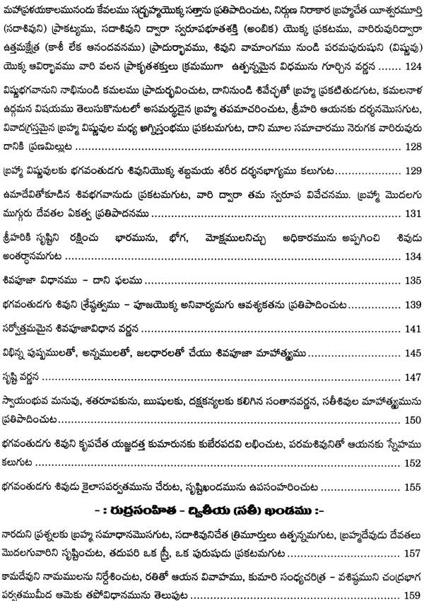 shiva puranam in telugu pdf free download