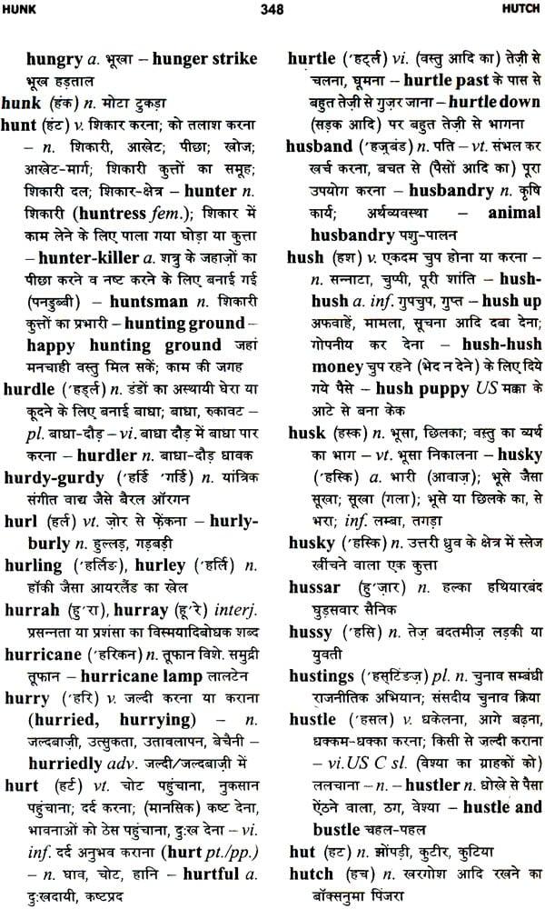 The Rupa English-Hindi Dictionary