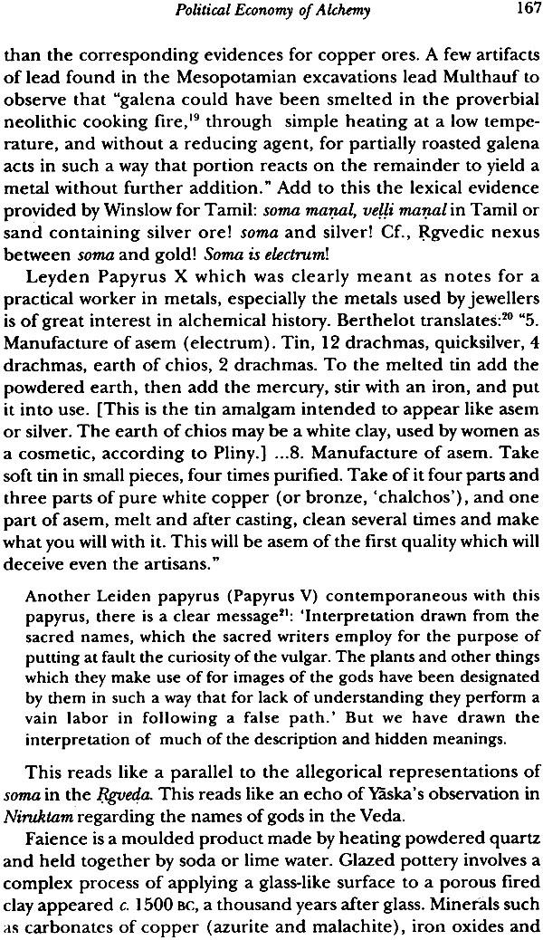 Indian Alchemy  Soma In The Veda