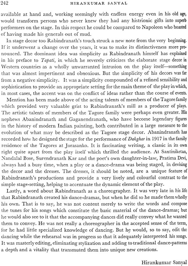 rabindranath tagore a centenary volume