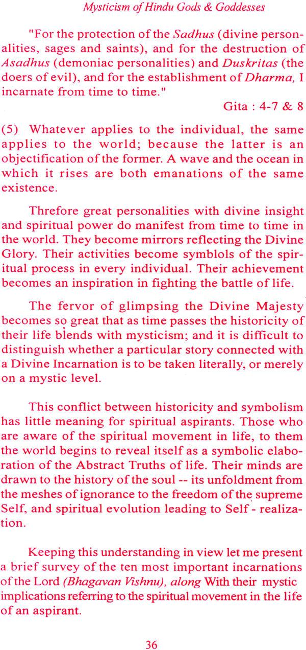 Mysticism Of Hindu Gods And Goddesses