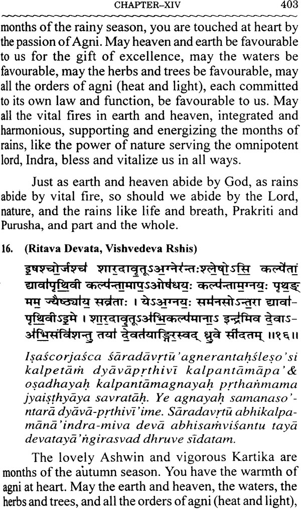 The hymns of yajurveda with sanskrit text roman transliteration look inside the book fandeluxe Images