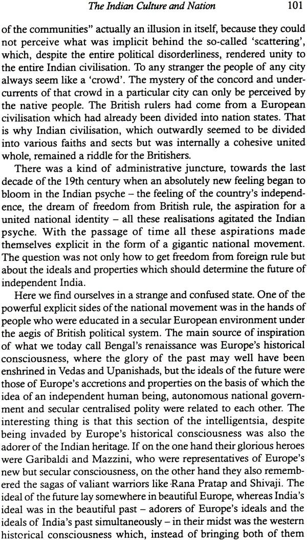 and europe selected essays by nirmal verma  look inside the book