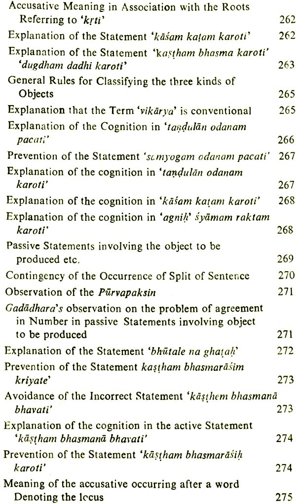 Vyutpattivada Theory Of The Analysis Of Sentence Meaning An Old