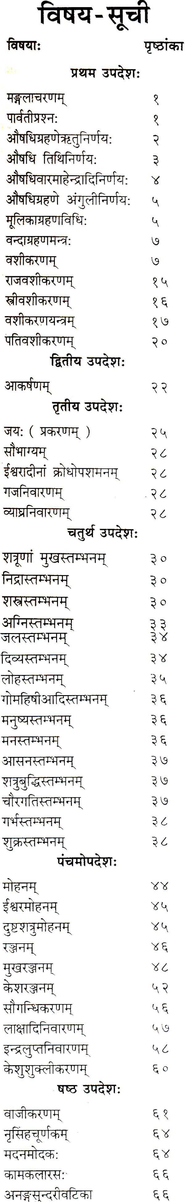 कामरत्न तंत्रम Kamaratna Tantram (Sanskrit Text