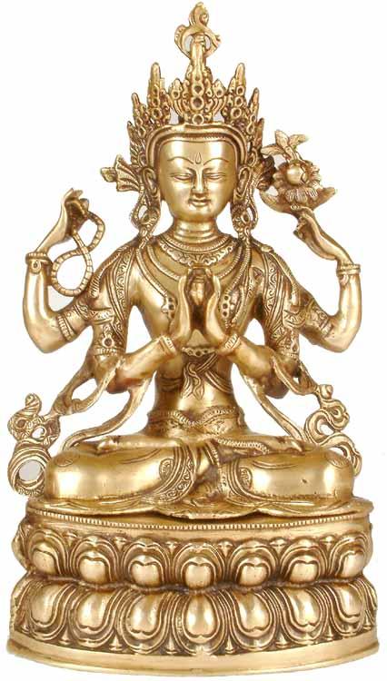 the most popular deity of tibet
