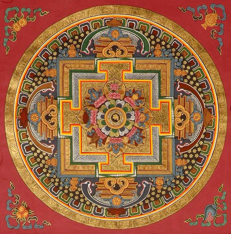 Mandala Of Sacred Syllable