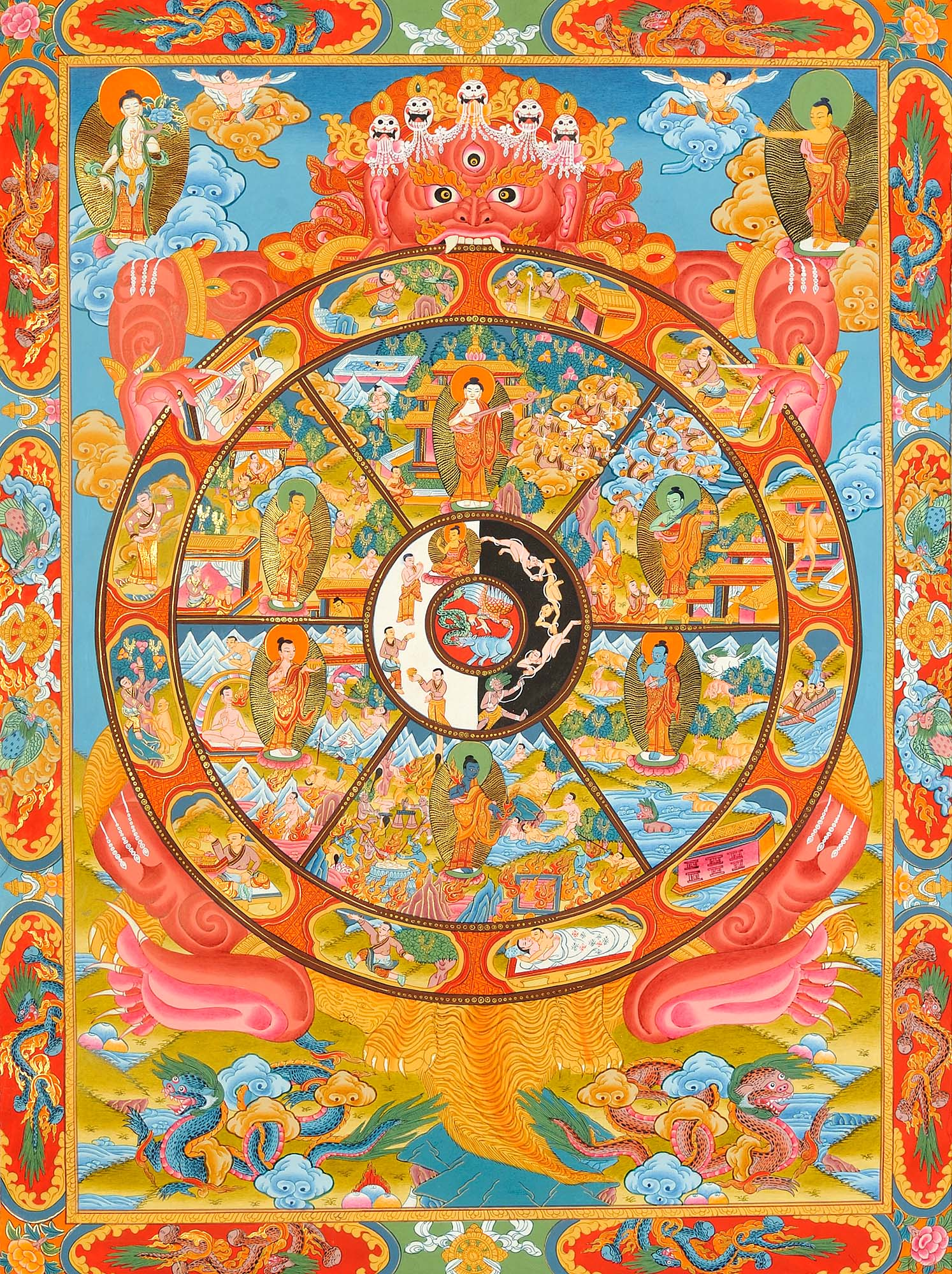 Image result for bhava chakra